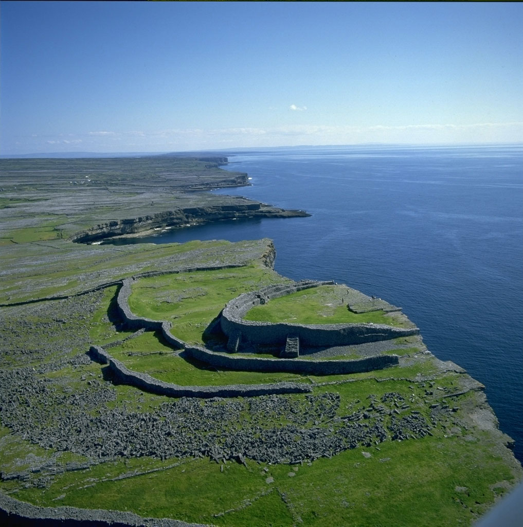 Ireland Self Drive Vacations - Dun Aghus Fort on the Aran Islands