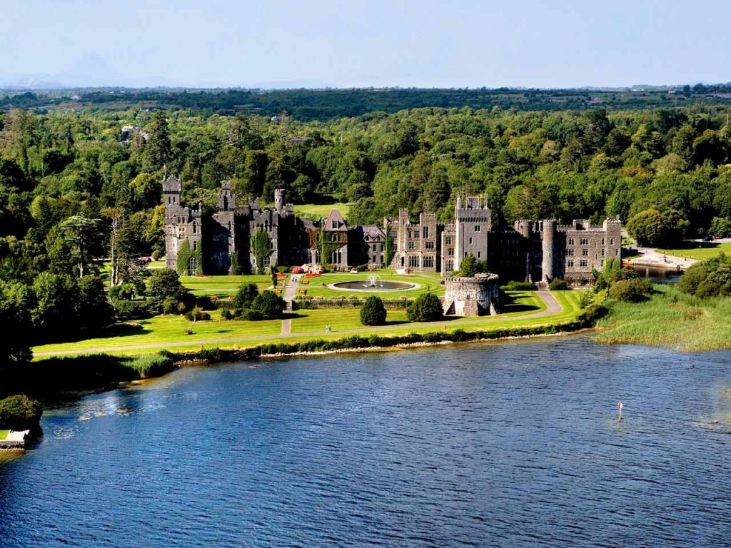 Escorted Ireland Castle Tour, Ashford Castle