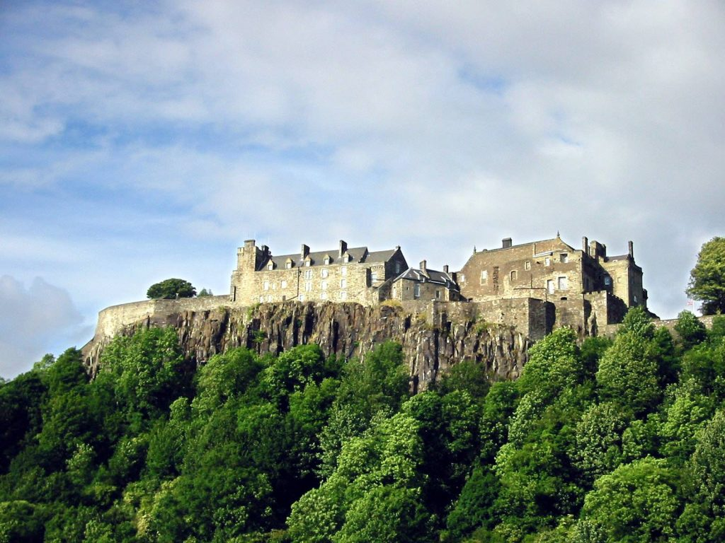 Scotland Self Drive Vacation - Stirling Castle
