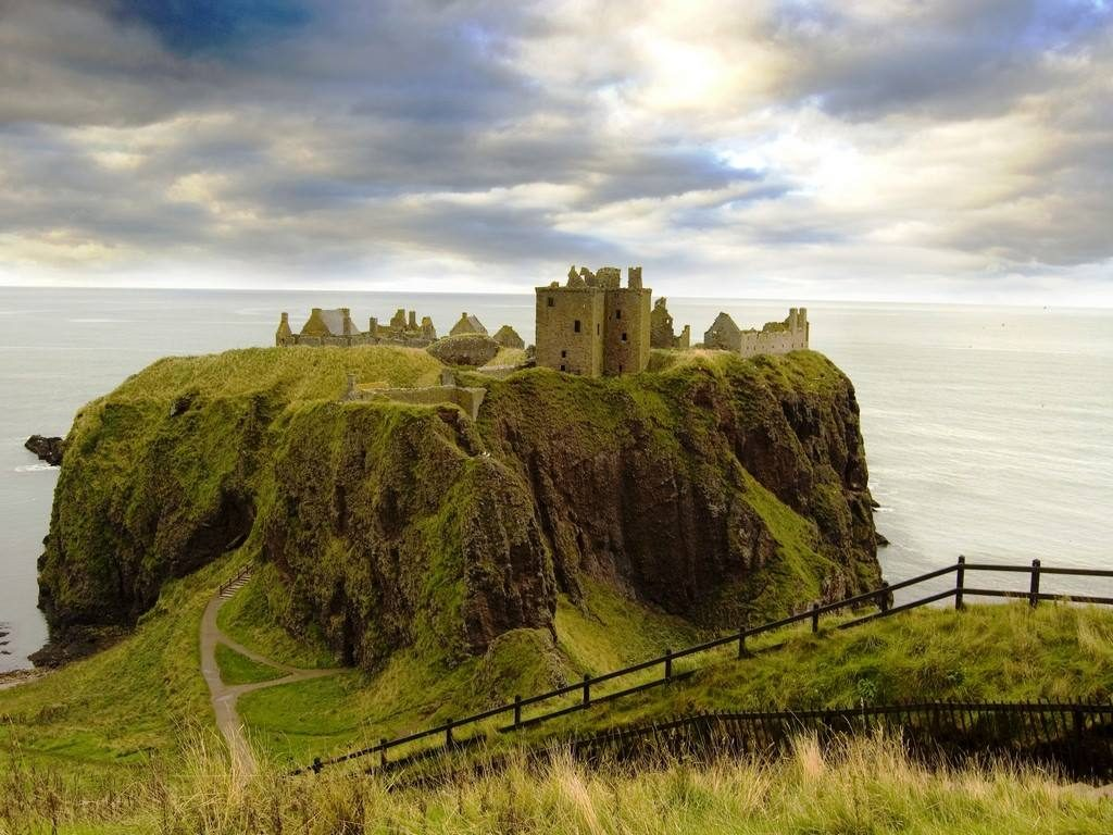 Scotland Self Drive Vacation - Dunnottar Castle