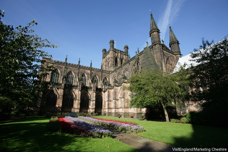 England Self Drive Vacations, Chester Cathedral,