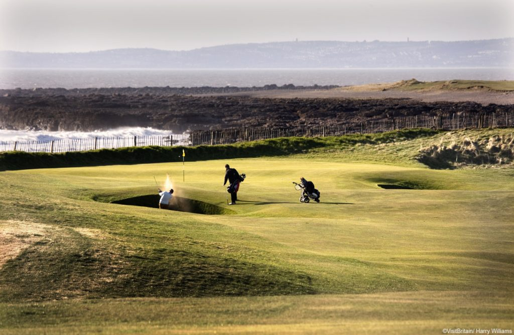 Wales Golf Vacations - Royal Porthcawl  Golf Links