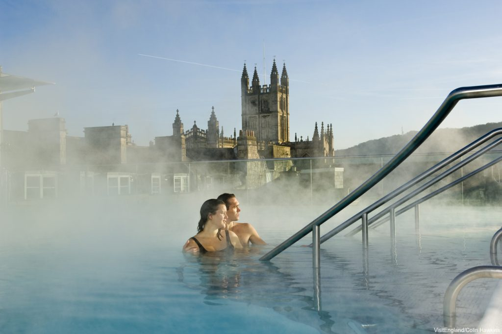 Honeymoons in England, Bath Thermae Spa